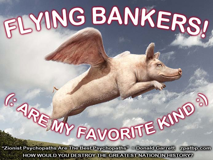 Flying Bankers! :) (Are My Favorite Kind)