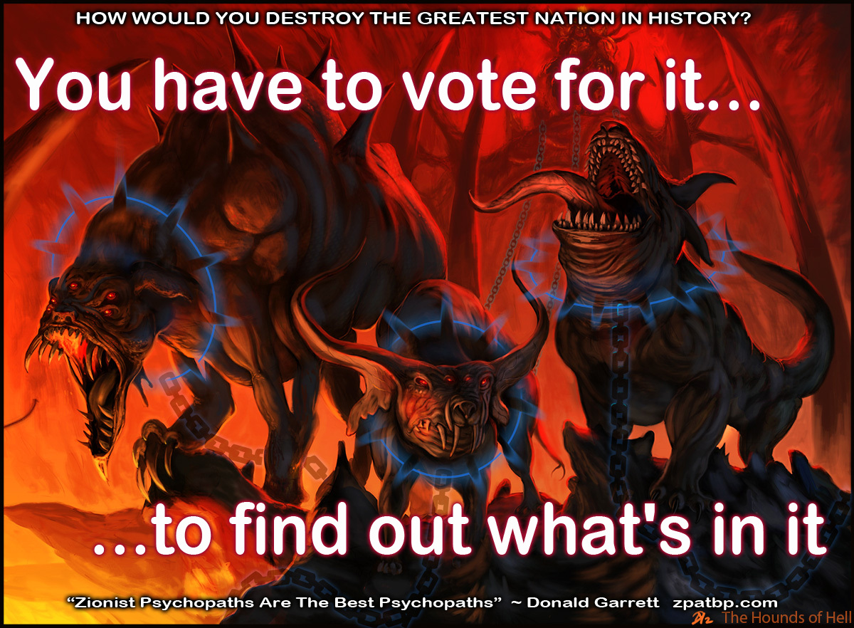 You have to vote for it, to find out what's in it (The Hounds of Hell)