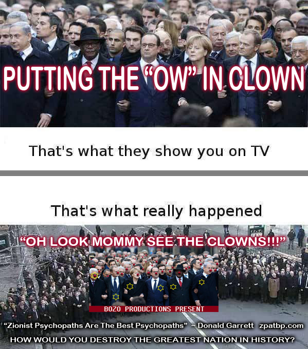 "PUTTING THE ""OW"" IN CLOWN"